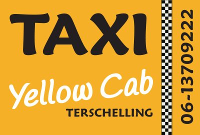 Taxi Yellow Cab Terschelling